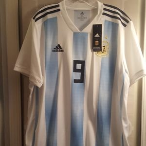 Addidas Argentine National Soccer Jersey